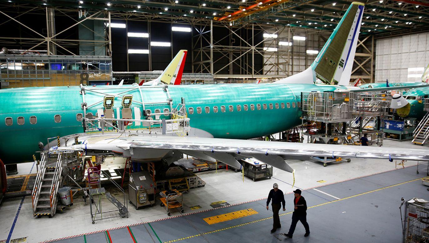 Fabryka Boeinga w Renton, w stanie Waszyngton (fot. REUTERS/Lindsey Wasson)