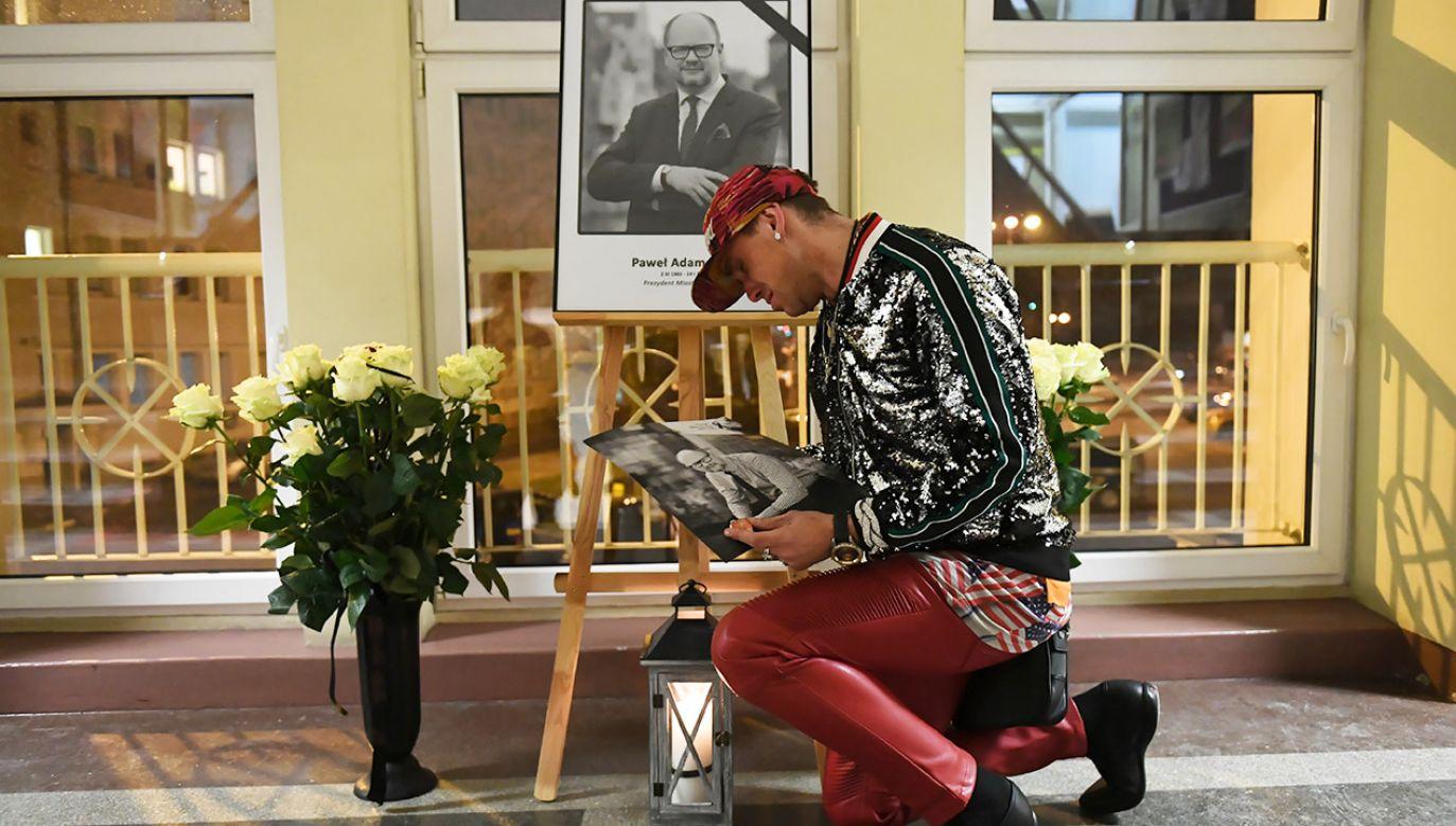 Prezydent Gdańska Paweł Adamowicz zginął w wyniku obrażeń po ataku nożownika (fot. PAP/Adam Warżawa)