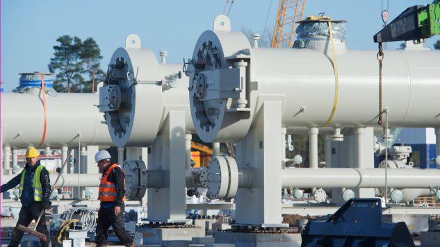 Nord Stream 2 to niemiecko-rosyjski projekt dwunitkowej magistrali gazowej z Rosji do Niemiec po dnie Morza Bałtyckiego (fot. arch.PAP/DPA/Stefan Sauer)