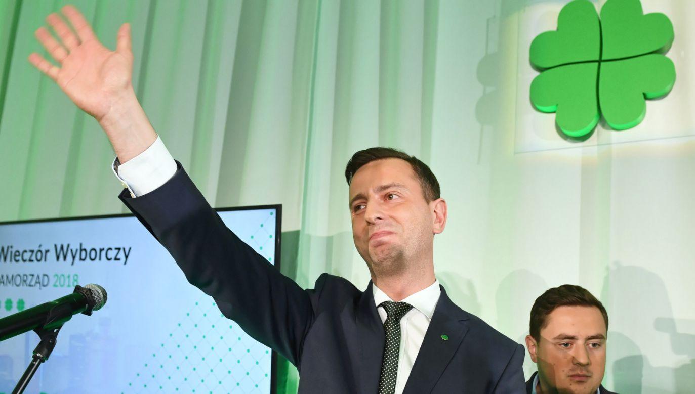 Lider PSL Władyslaw Kosiniak Kamysz (fot. PAP/Radek Pietruszka)