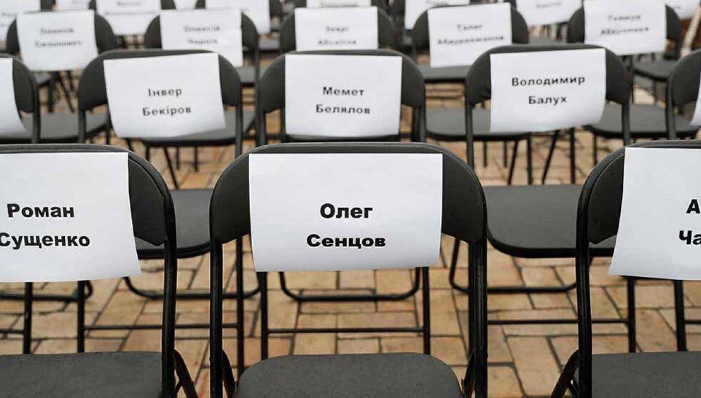 Liczba osób przetrzymywanych przez Rosjan i prorosyjskich separatystów nie jest znana (fot. TT/Уляна Супрун)