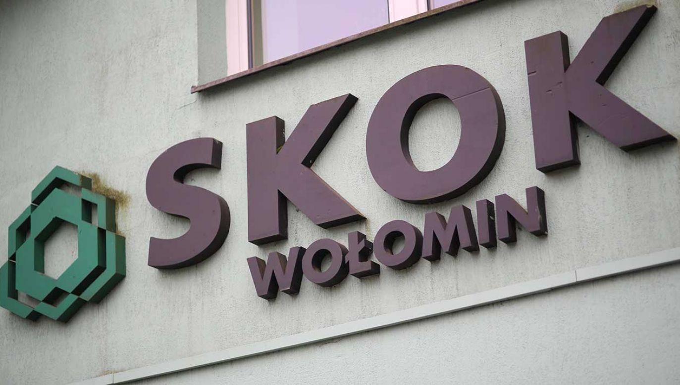 Sasin o aferze SKOK Wołomin i próbach połączenia jej z politykami PiS (fot. arch. PAP/Leszek Szymański)