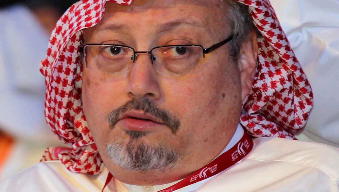 Arabia Saudyjska przyznała, że Dżamal Chaszodżdżi został zabity w konsulacie w Stambule (fot. PAP/EPA/ALI HAIDER)