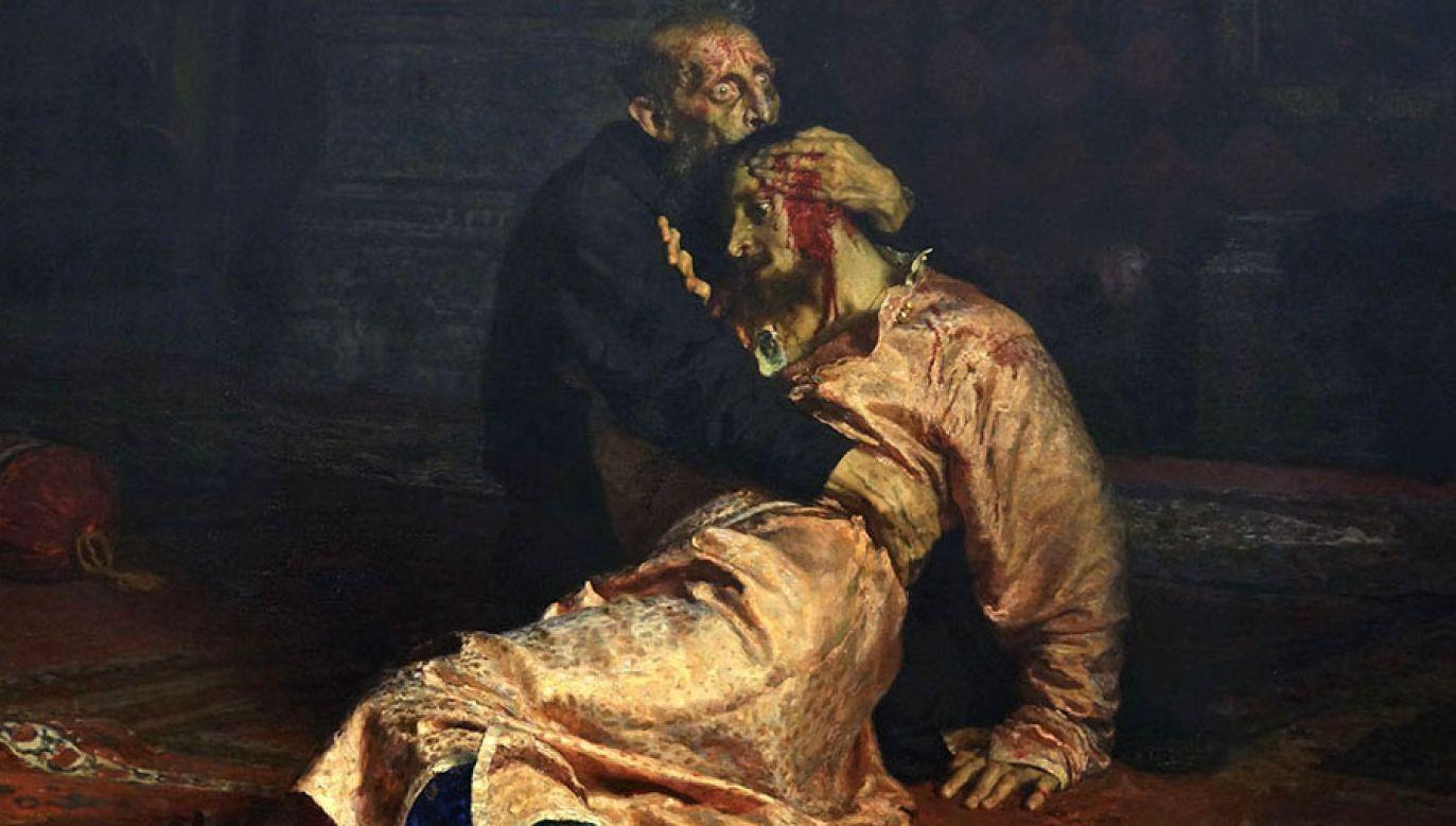 """Uszkodzono obraz """"Iwan Groźny i jego syn"""" Ilji Riepina (fot. Wikimedia.com/Alonso de Mendoza)"""