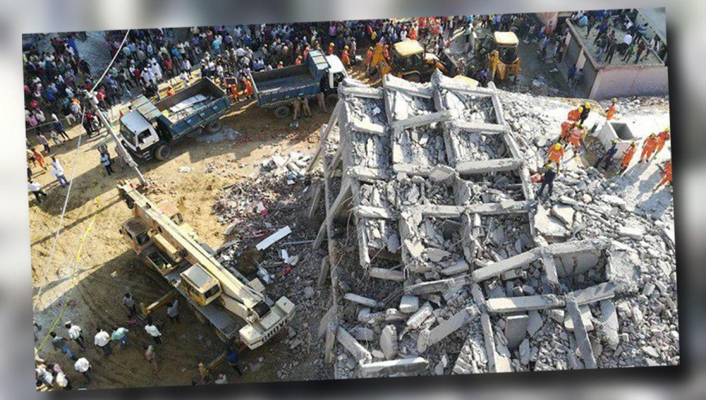 W Indiach często dochodzi do katastrof budowlanych (fot. TT)