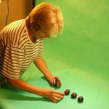 Kierowniczka produkcji – Jadzia Błachowicz przygotowuje do liczenia do sześciu