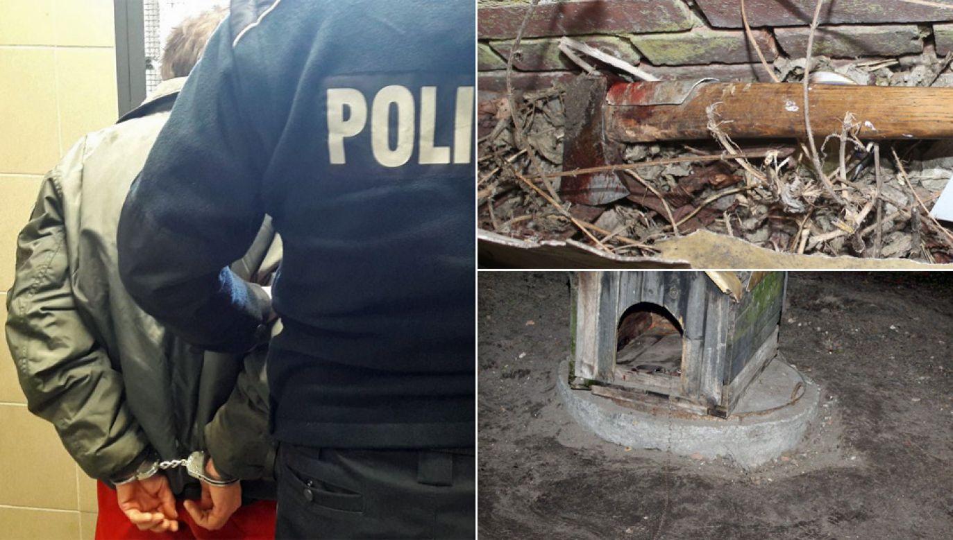 Sprawcy grozi do pięciu lat więzienia (fot. KPP Namysłów)