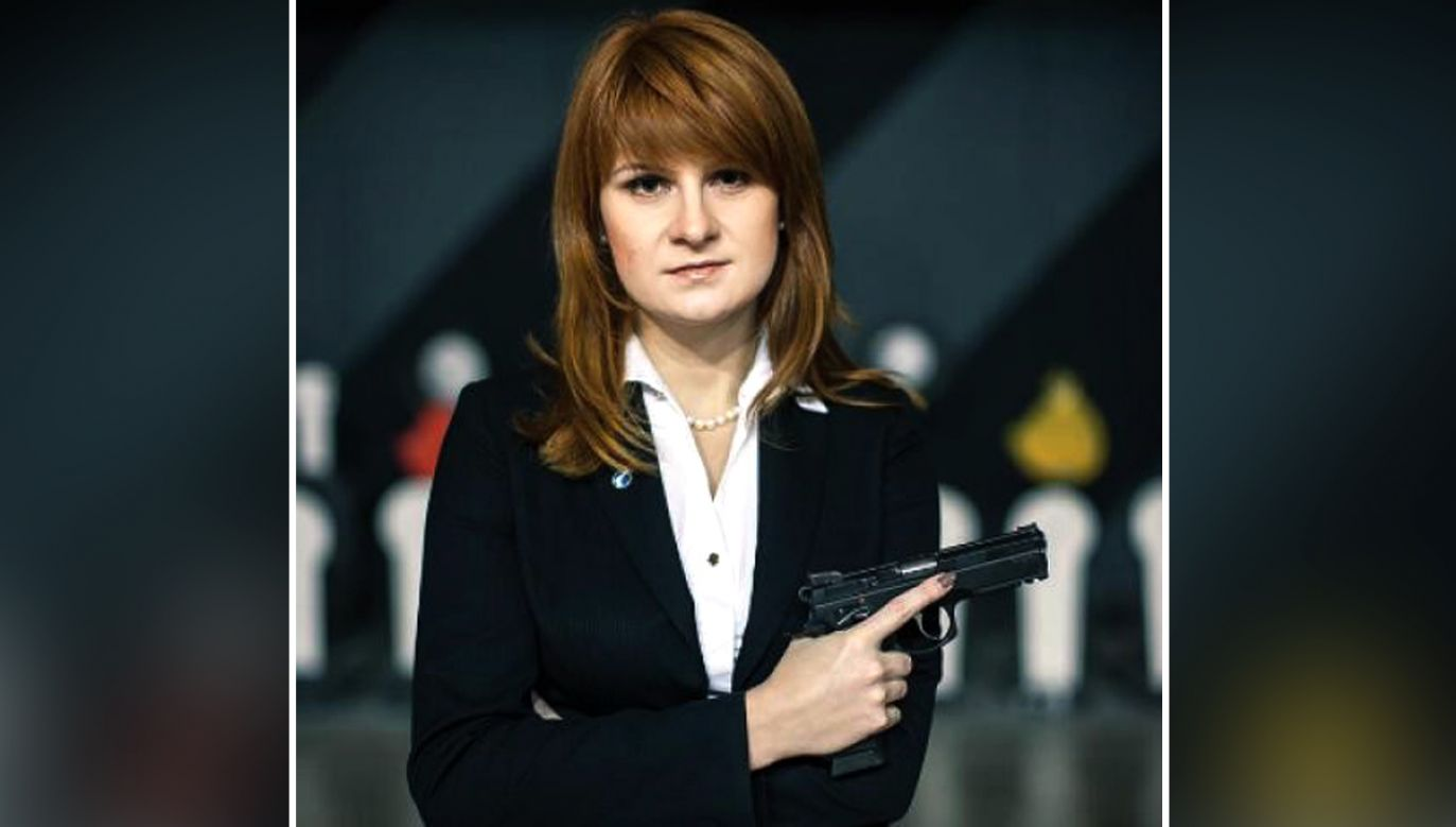 Maria Butina (fot. Press Service of Civic Chamber of the Russian Federation/HANDOUT)