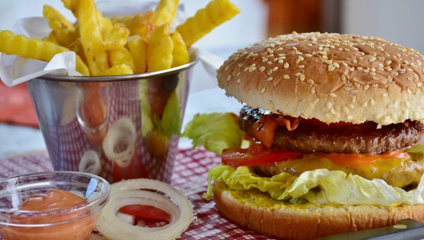 Śmieciowe jedzenie może powodowac alergie pokarmowe (fot. pixabay/RitaE)