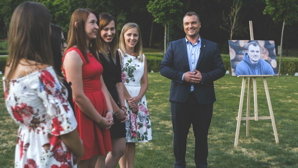 Dla Grzegorza liczyła się przede wszystkim szczerość i to właśnie kandydatki z tą cechą pójdą z nim w dalszą drogę (fot.TVP)