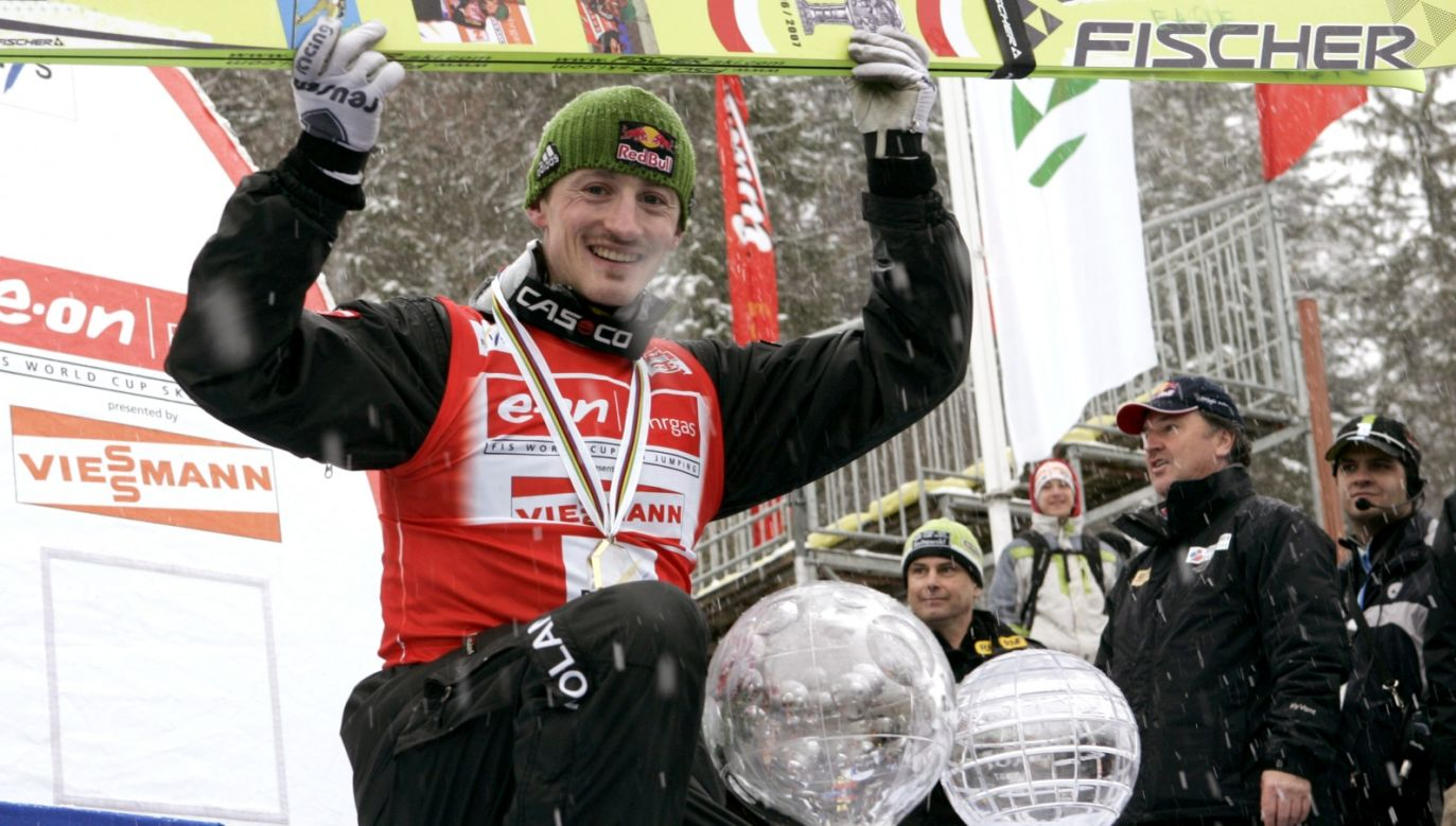 Adam Małysz (fot. Getty Images)