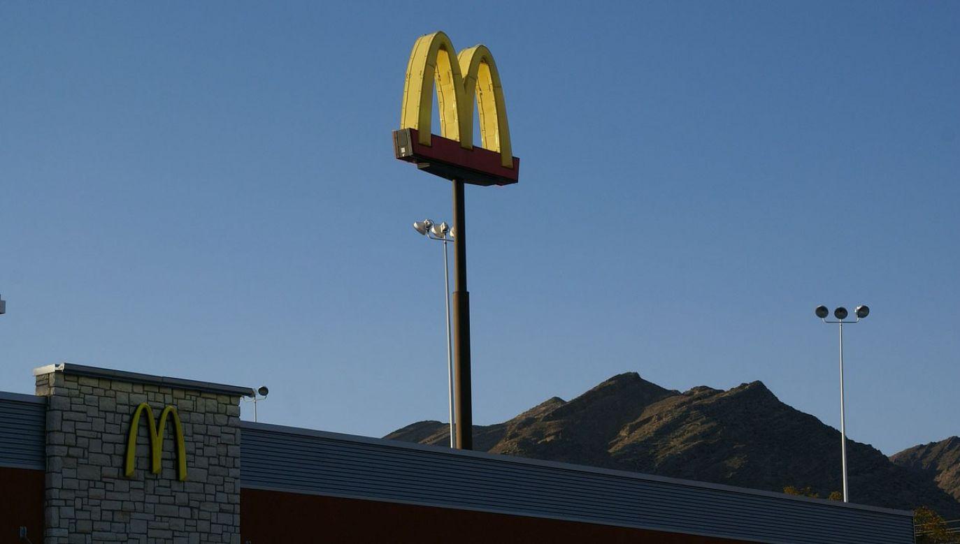 5-latek chciał zamówić jedzenie z restauracji McDonald's (fot. pixabay/WikimediaImages)