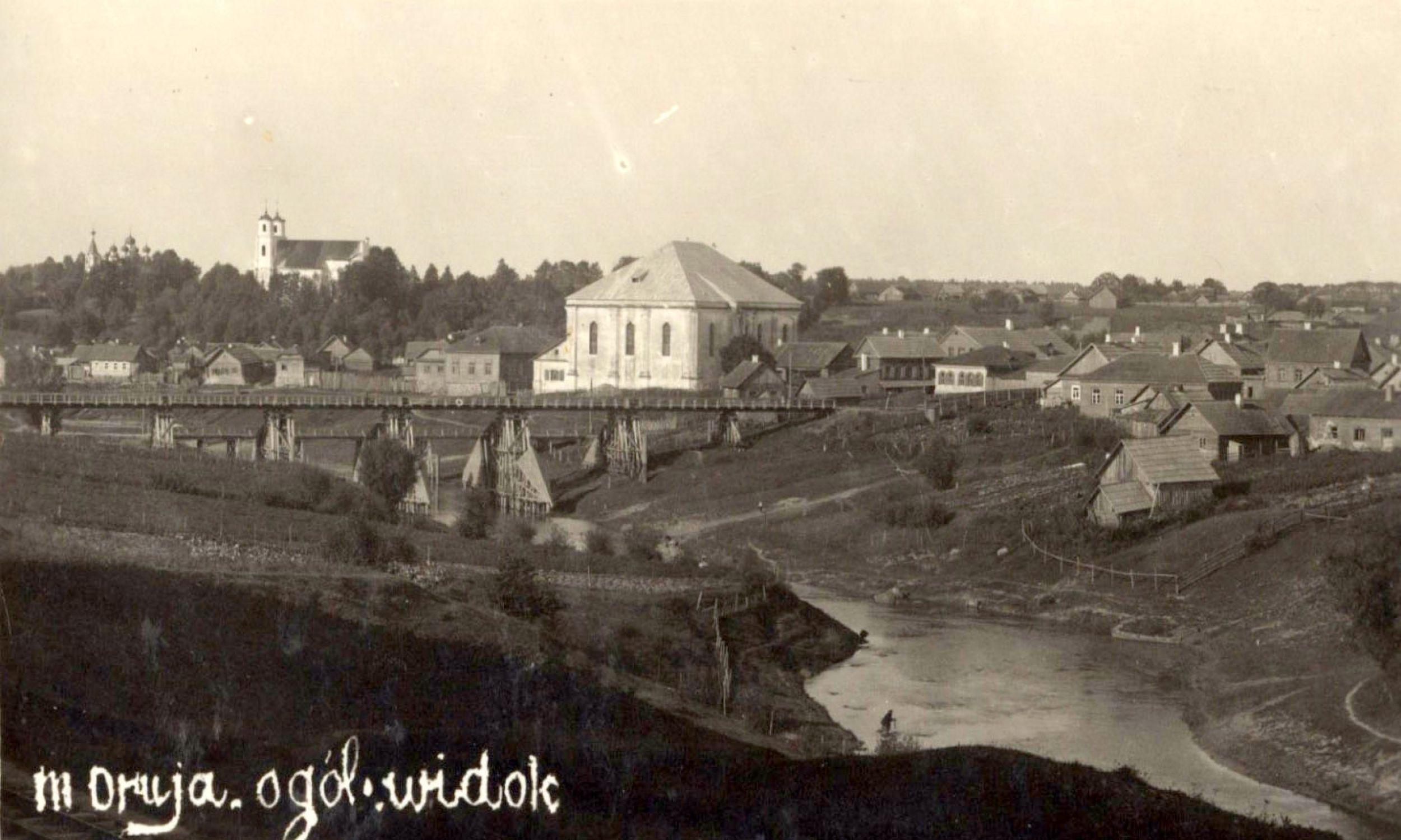 Druja, przed 1936 r. Fot. Wikimedia/Biblioteka Narodowa, Poczt.13128a
