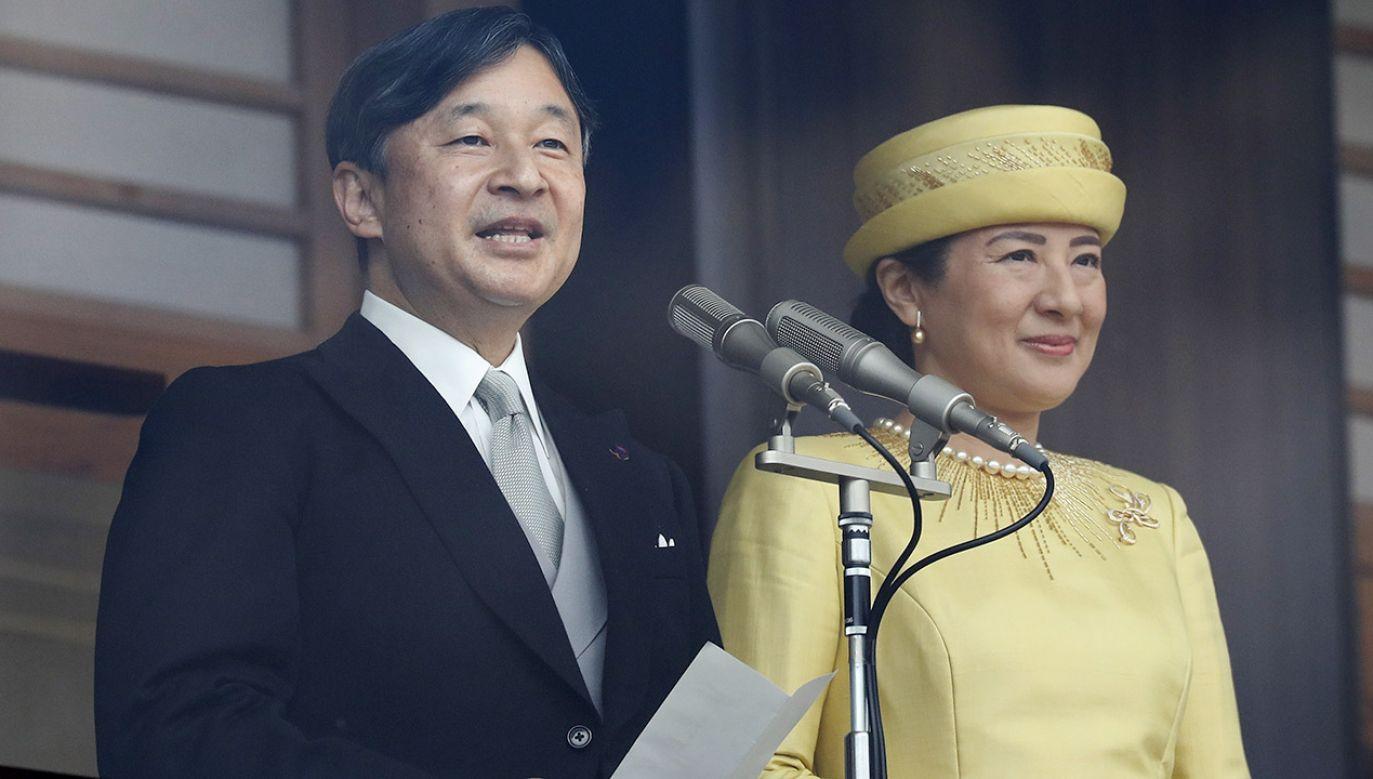 Nowy władca Japonii Naruhito będzie kontynuował tradycje olimpijskie rodziny cesarskiej i otworzy igrzyska w Tokio w 2020 roku (fot. PAP/EPA/KIMIMASA MAYAMA)