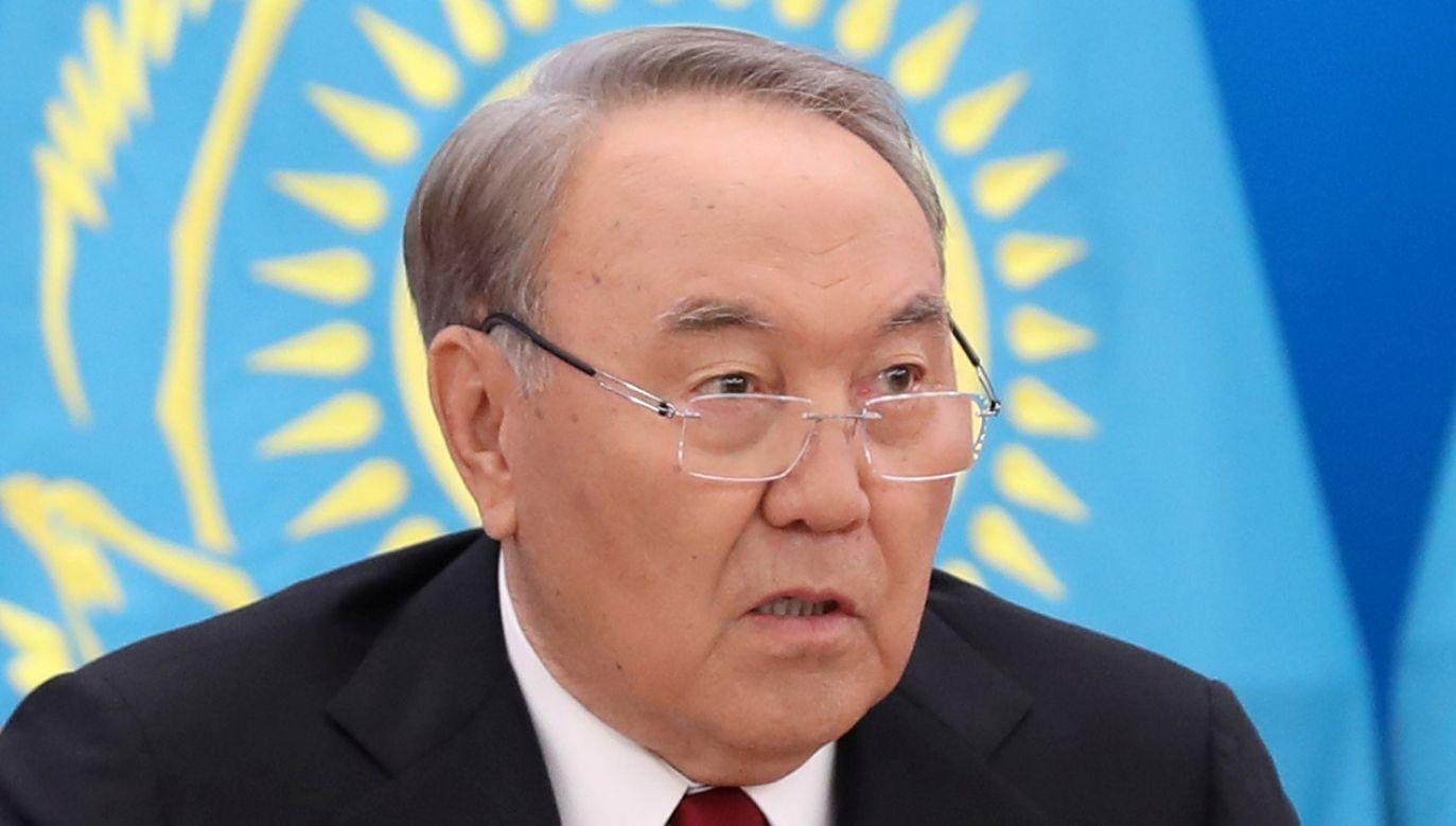 Nowa nazwa została przyjęta na cześć byłego prezydenta Nursułtana Nazarbajewa, który podał się do dymisji (fot. REUTERS/Mukhtar Kholdorbekov)
