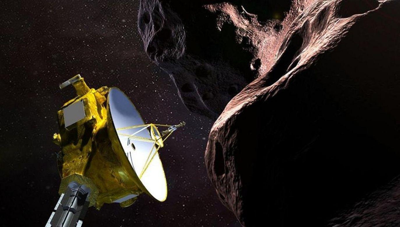 Ultima Thule znajduje się ok. 6,5 mld kilometrów od Ziemi (fot.NASA)