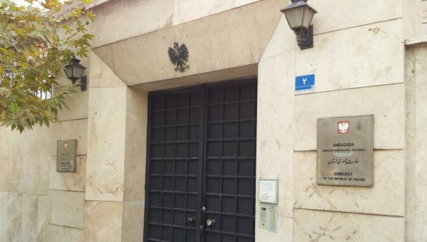 Ambasada RP w Teheranie (fot. MSZ)