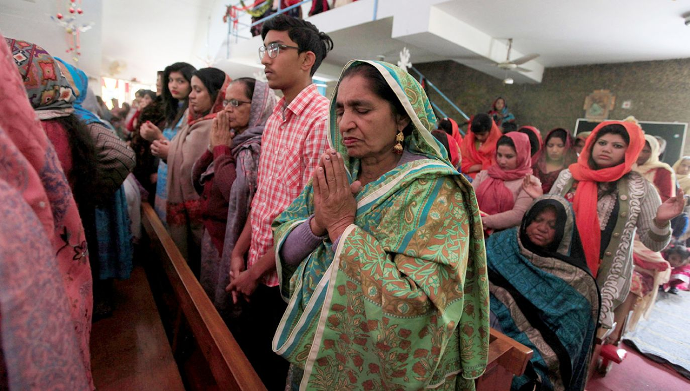 Policja pakistańska zapewniła, iż uczyni wszystko, aby chronić kościoły chrześcijańskie w mieście (fot. REUTERS/Faisal Mahmood)