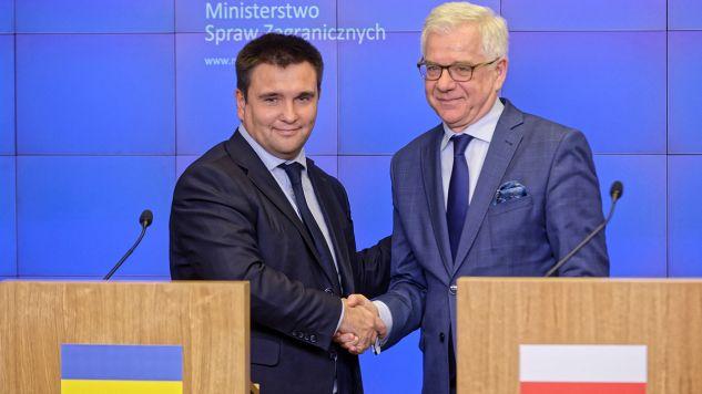 """""""Właśnie okazaliśmy dobrą wolę"""", powiedział minister Czaputowicz (fot. arch. PAP/Jakub Kamiński)"""