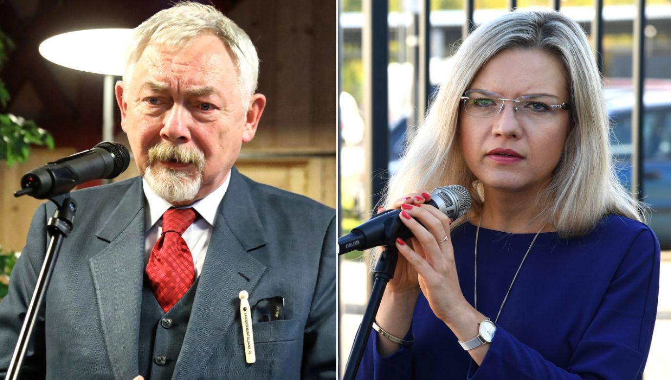 Z sondażu wynika, że w drugiej turze wyborów na prezydenta Krakowa zmierzą się Jacek Majchrowski i Małgorzata Wassermann (fot. PAP/Jan Graczyński/Jacek Bednarczyk)
