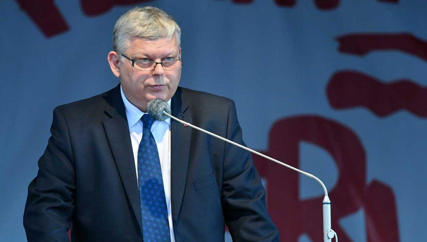 Szef gabinetu politycznego premiera Marek Suski  (fot. arch. PAP/Piotr Polak)