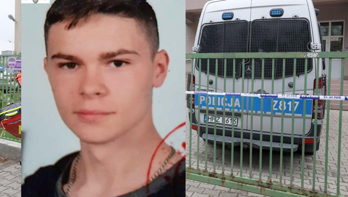 Po raz ostatni widziano nastolatka w sobotę 18 maja na osiedlu Chącińskiego (fot. PAP/Paweł Supernak/KPP Łuków)