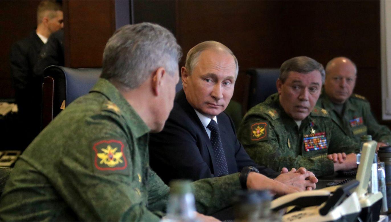 """""""Rosyjscy wojskowi uważnie obserwują plany zwiększenia obecności militarnej USA w Polsce"""" – powiedział rzecznik prezydenta Putina  (fot. Kremlin.ru)"""