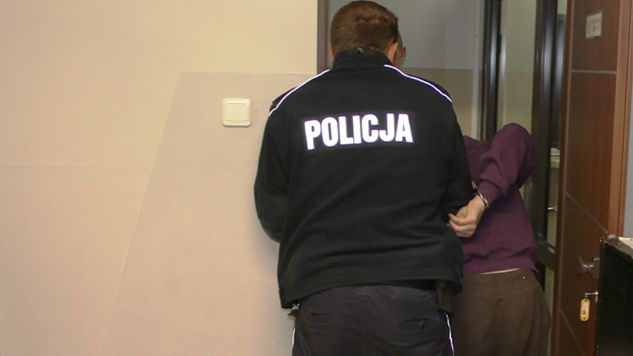 Mężczyzna zostanie oskarżony o usiłowanie zabójstwa. (fot. pajeczno.policja.gov.pl)