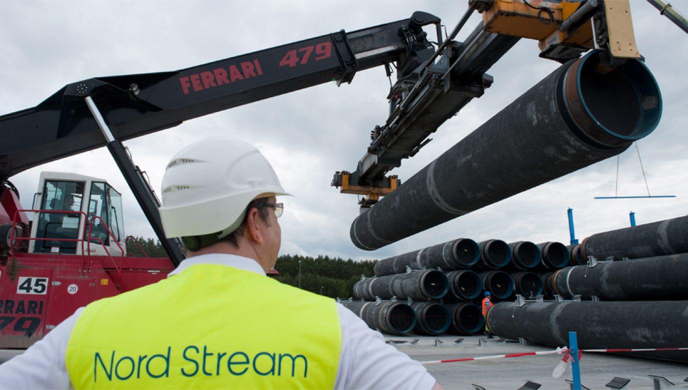 Według planów gazociąg Nord Stream 2 ma być gotowy pod koniec 2019 roku (fot. PAP/EPA/STEFAN SAUER)