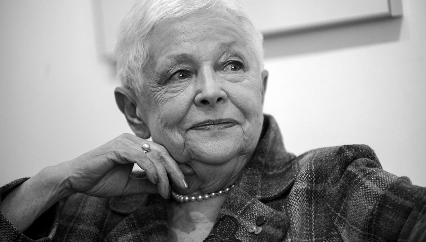 Zmarła dziennikarka Krystyna Grzybowska (fot. arch. PAP/Marcin Obara)