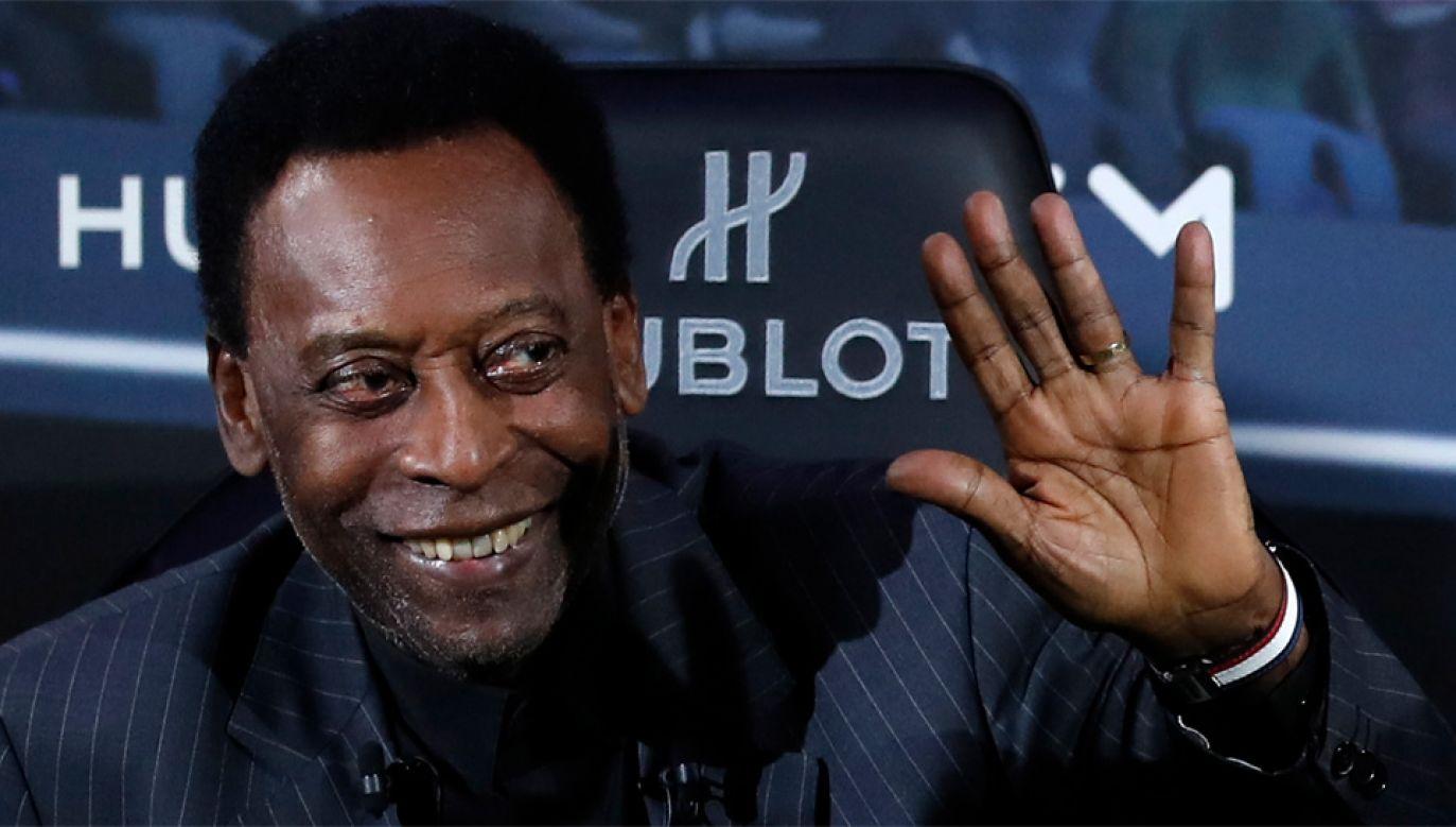 78-letni Pelé ma wrócić do Brazylii (fot. PAP/EPA/IAN LANGSDON)