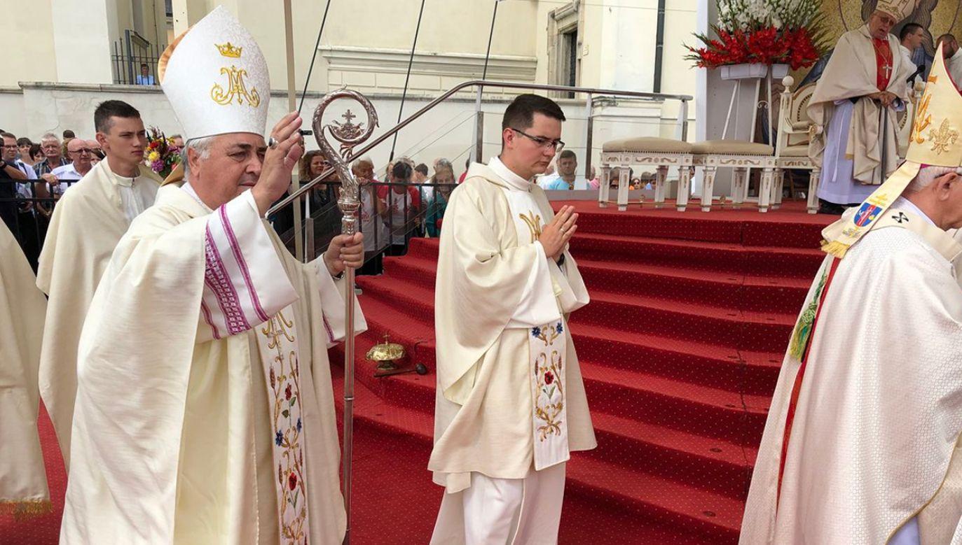 Uroczystości Wniebowzięcia Maryi na Jasnej Górze. Mszy świętej przewodniczył arcybiskup Salvatore Pennacchio (fot. TT/Church in Poland)