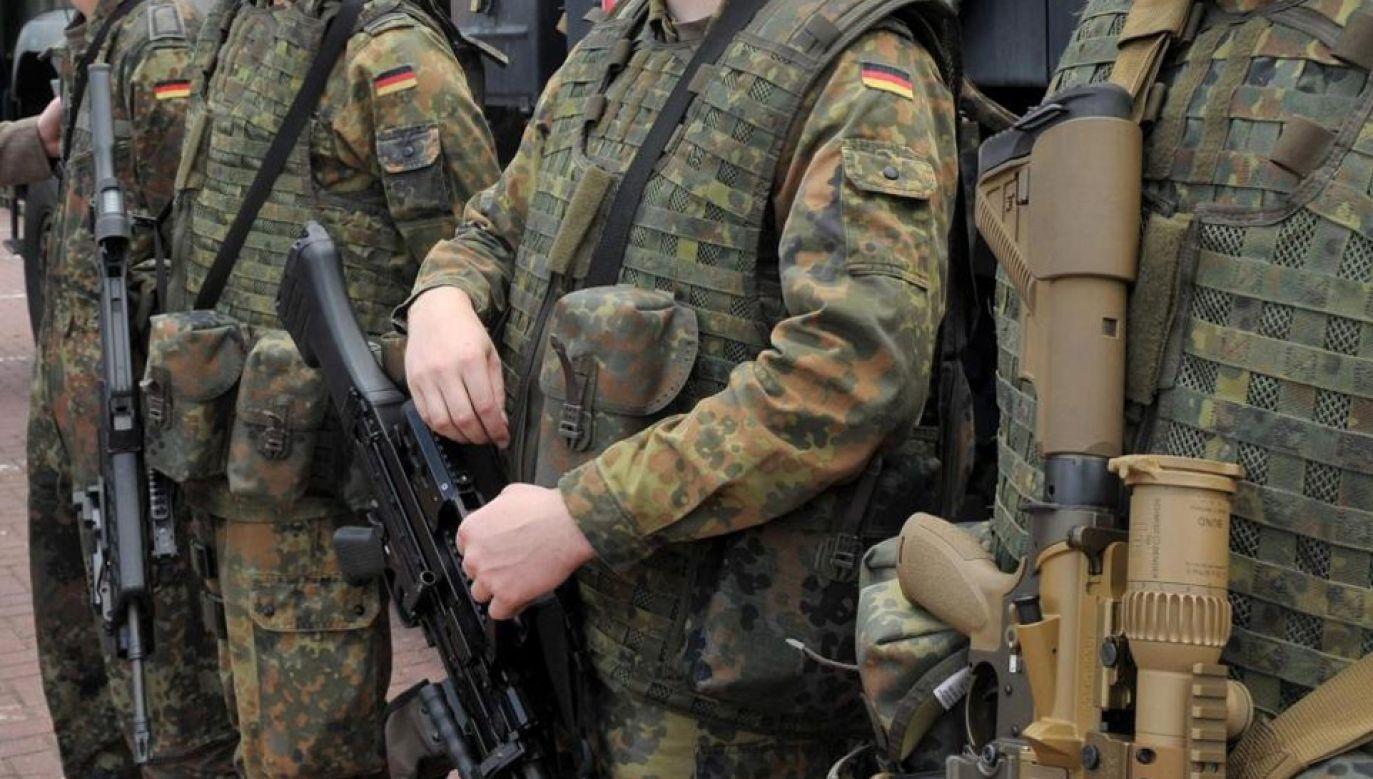 W ub.r. prowadzono w Bundeswehrze dochodzenie ws. 275 czynów na tle neonazistowskim (fot. Bundeswehr.de)