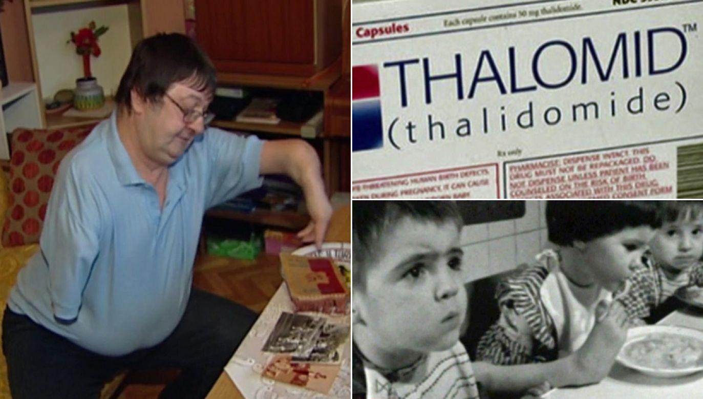 W Polsce żyje przypuszczalnie kilkanaście osób dotkniętych embriopatią talidomidową (fot. TVP Info)