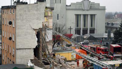 e5b5d845b7031 W gruzach zniszczonego przez wybuch budynku w Poznaniu znaleziono ciało  kobiety, której wcześniej ktoś odciął głowę – informuje portal wPolityce.pl.