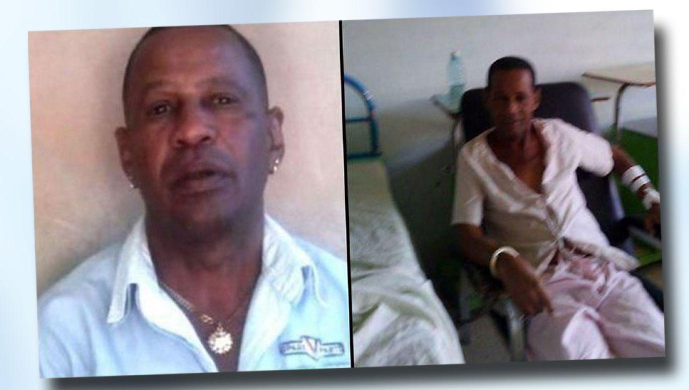 Tomas Nunez Magdariaga miał prowadzić głodówkę od sierpnia (fot. TT/CubanMartinC)