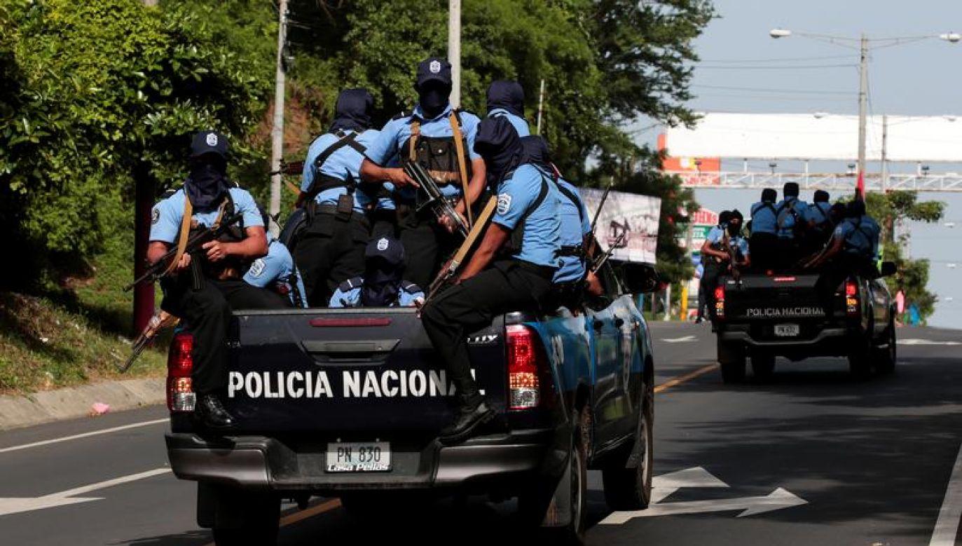 Masowe demonstracje w całej Nikaragui trwają od 18 kwietnia (fot. REUTERS/Oswaldo Rivas)