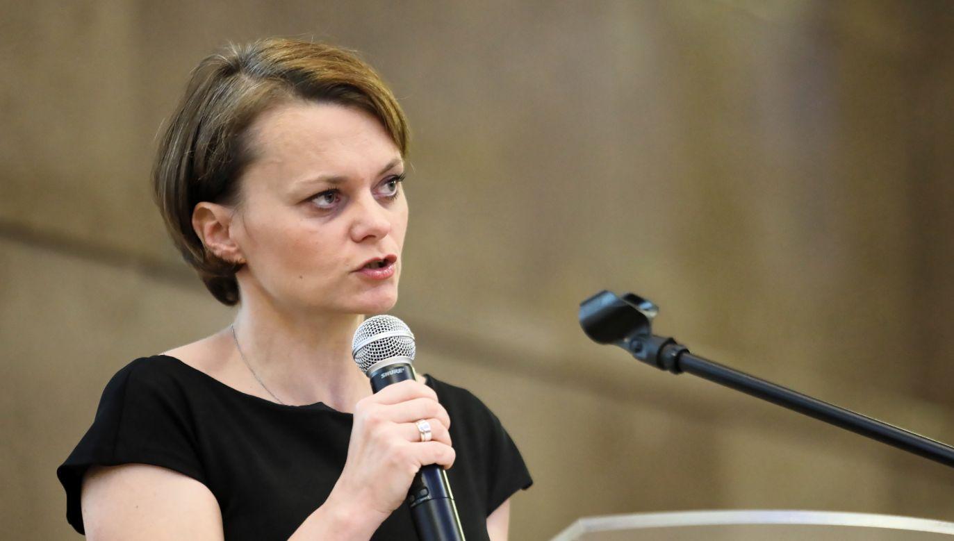 Poland's Entrepreneurship and Technology Minister Jadwiga Emilewicz. Photo: PAP/Leszek Szymański