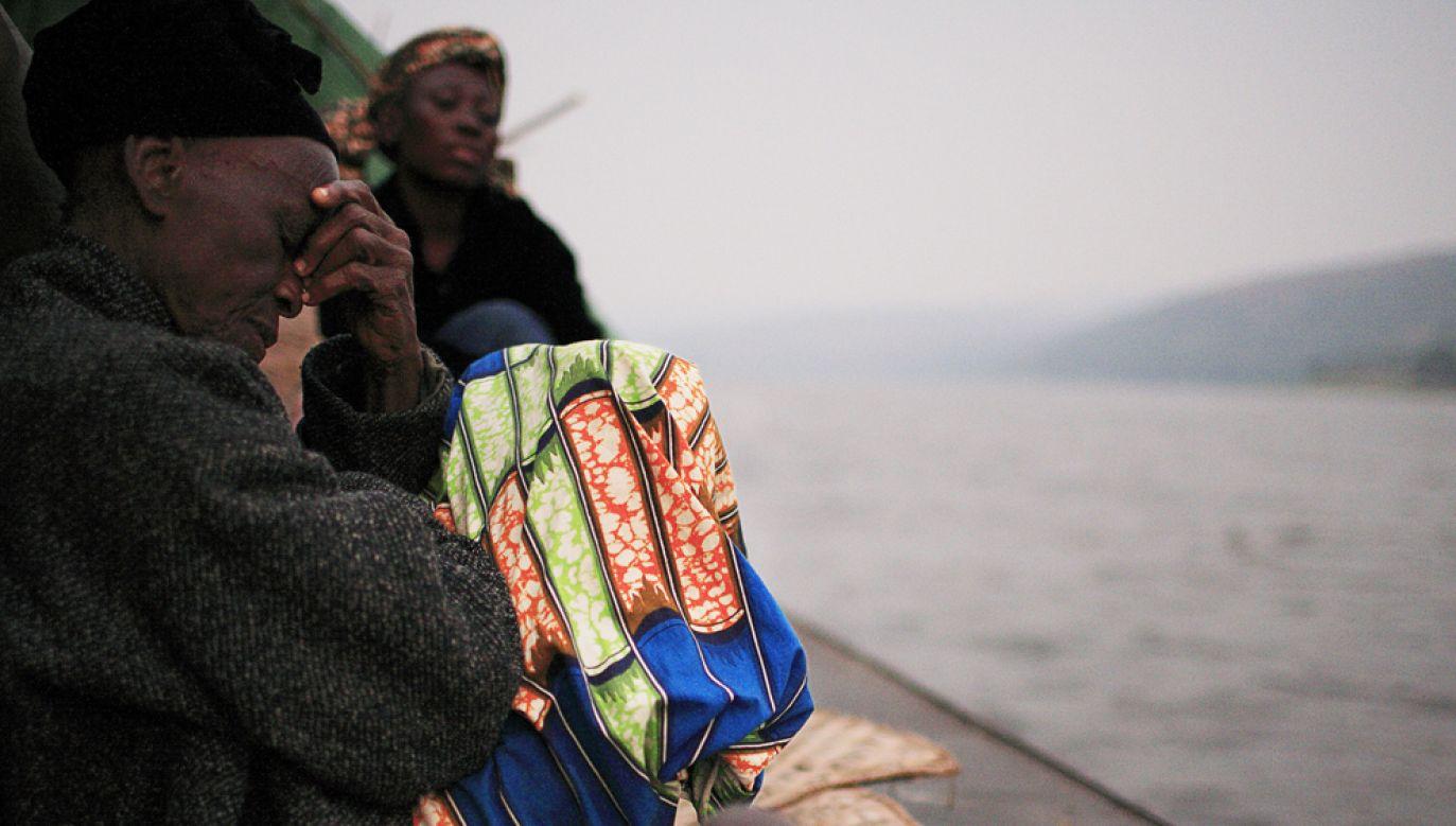Do zatonięcia statku przyczyniły się fatalne warunki atmosferyczne na jeziorze Mai-Ndombe (zdjęcie ilustracyjne) (fot. Per-Anders Pettersson/Getty Images)