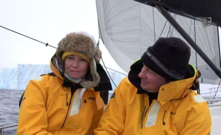Jacht Katharsis II opłynął Antarktydę