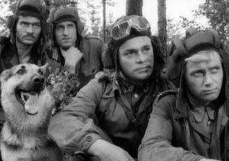 Four Tankmen and A Dog