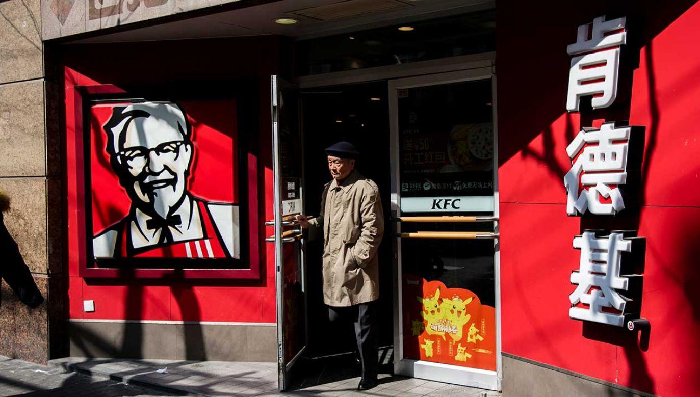 To rzadki przykład połączenia ikonicznej marki z USA z propagandą komunistyczną Chin – oceniła agencja AP (fot.Vincent Isore/IP3/Getty Images)