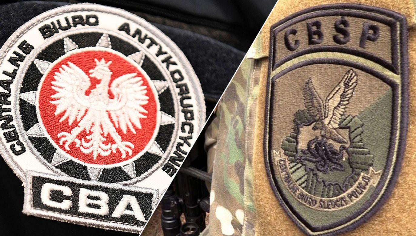 Wspólna akcja obu służb była wymierzona w przestępczość podatkową VAT (fot. cba.gov.pl/cbsp.policja.pl)