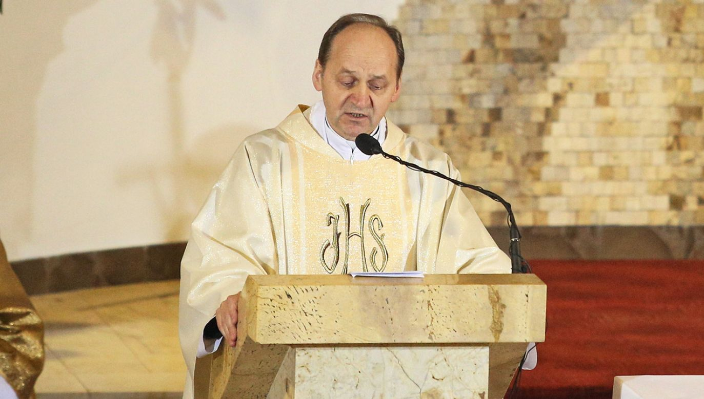 Ks. Franciszek Ślusarczyk od 2014 roku jest rektorem Sanktuarium Bożego Miłosierdzia w Łagiewnikach (fot. arch.PAP/Stanisław Rozpędzik)