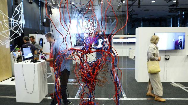 """Wystawa """"Przemiana Algorytmów"""