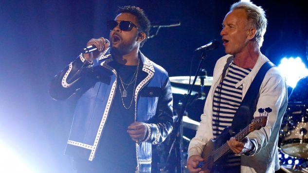 Sting i Shaggy (fot. REUTERS/Lucas Jackson)