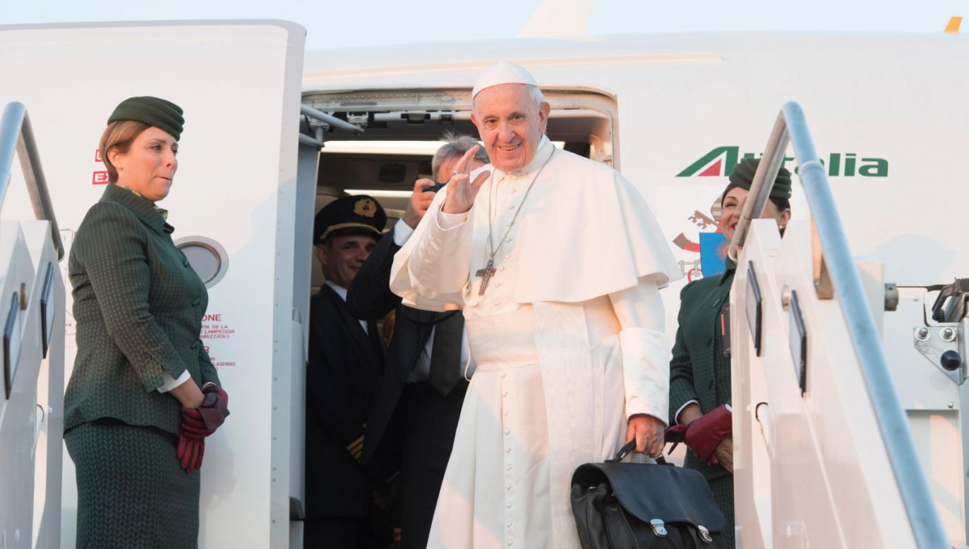 Pope Francis is on a visit to Lithuania, Latvia and Estonia. Photo: PAP/EPA/VATICAN MEDIA HANDOUT