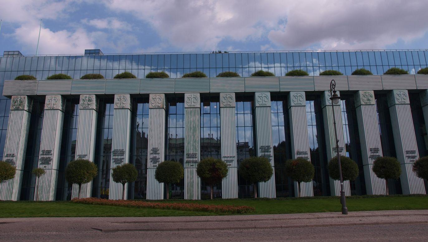 The building of the Polish Supreme Court in Warsaw. Photo: Flickr/Tomislav Medak