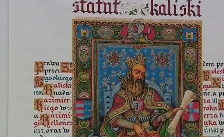 Iluminacje Statutu Kaliskiego. Wystawa w Pałacu Sztuki