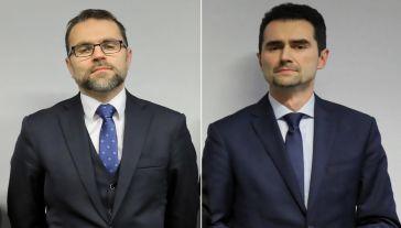 Jacek Bartosiak i Piotr Malepszak (P) (fot. arch. PAP/Paweł Supernak)